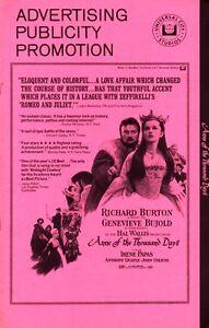 ANNE-OF-THE-THOUSAND-DAYS-pressbook-Richard-Burton-Genevieve-Bujold