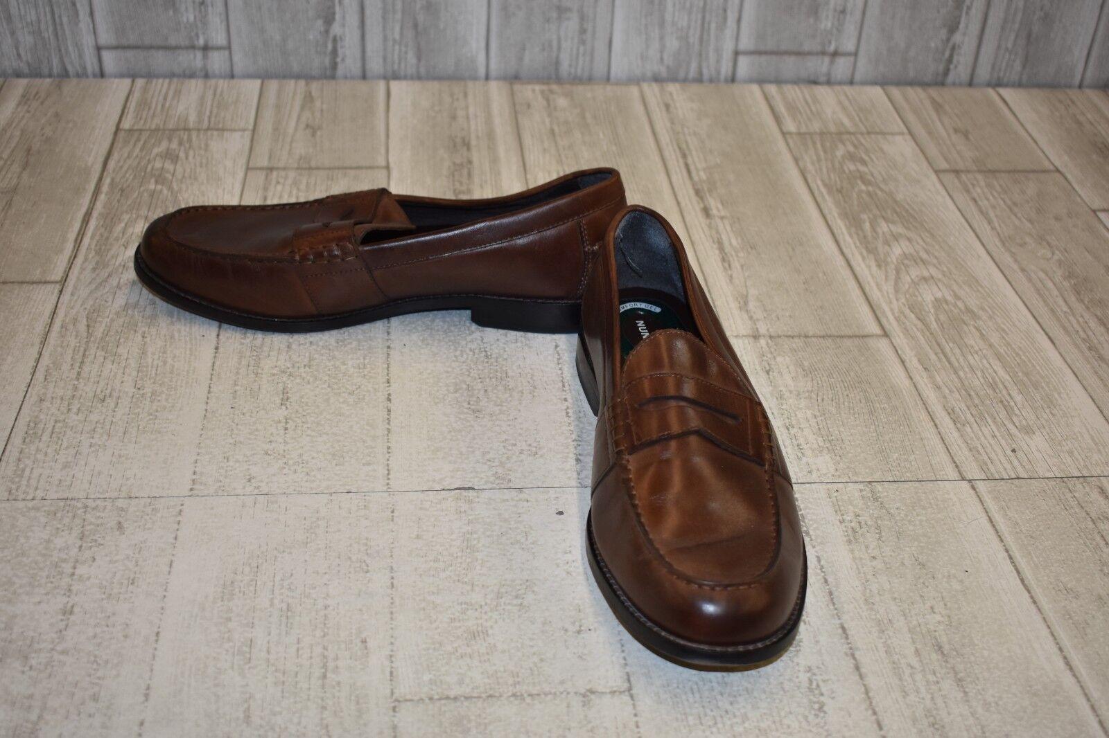 Nunn Bush Noah Beef Roll Penny Loafer - Men's Size 11 M - Brown