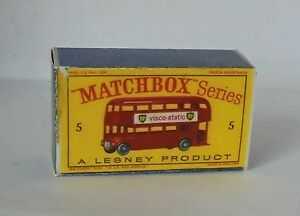 Repro Box Matchbox 1:75 Nr.05 Bus älter