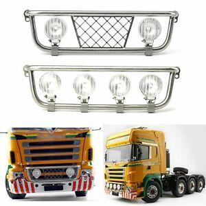 6PCS Metal Cargo Container Hinge Kit for Tamiya 1//14 Scania 56323 Truck Trailer