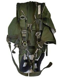 Fallschirm-Gurtzeug-Packtasche-Ausgemustert-OBH-Parachute