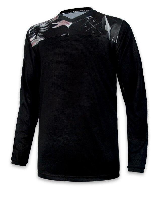Loose Riders Herren STEALTH FLORAL Jerseys Langarm.Sportwear,Bike,Radsport Style