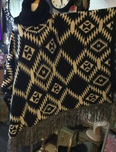Tags One New Vila Size Poncho Eqz6Oz7