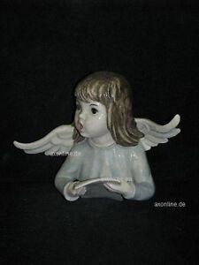 Porzellan +# A013195_04 Goebel Archiv Muster Huldah Wandengel Singt Mit Notenblatt 713a Belebende Durchblutung Und Schmerzen Stoppen Goebel