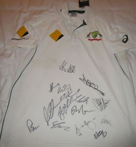 Australian-Test-team-v-West-Indies-2015-2016-signed-official-Test-Match-Shirt