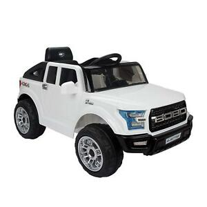 White-Jeep-Kids-Electric-Ride-on-Sport-Car-12V-Rechargeable-Battery-2-Motors