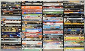 Lot of 124 New & Sealed DVD Movies, TV Shows & Documentaries