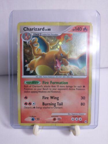 Charizard LV.60 1/99 Platinum Arceus Holo Rare 2009 Pokemon Card - MP