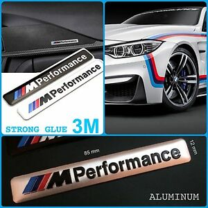 M Performance Car Logo Hood Decal Alu Sticker Motorcycle Emblem For Bmw M Series Ebay