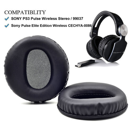 Ear pads for SONY PS3 Pulse Elite Edition Wireless Stereo headset CECHYA-0086