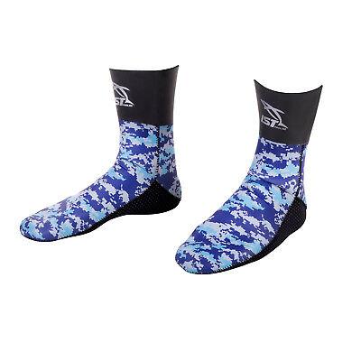 Boots, Booties Ist Ska0150-09 5mm Nylon Ii Neoprene Camouflage Spearfishing Socks Reliable Performance Water Sports