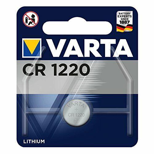 5 x Varta CR 1220 CR1220 3V Lithium Batterie Knopfzelle 35mAh Blister 6220