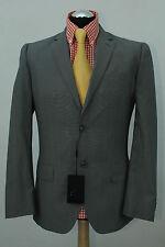 Matinique lana miscela ricca Argento/Grigio Giacca/Blazer 38r NUOVISSIMI £ 200