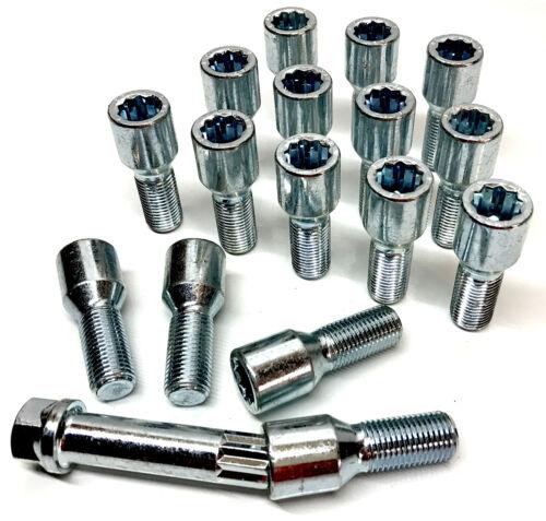 F23 F45 M14x1.25 alloy wheel tuner bolts x 16 BMW 2 Series F22