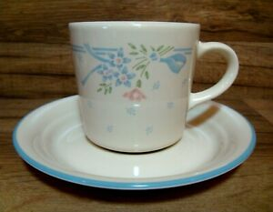 SET OF 4  - CORNING CORELLE - SYMPHONY - SANDSTONE - COFFEE CUPS & SAUCERS