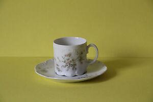 Rosenthal-Monbijou-Gruene-Ranke-Espressotasse-mit-Untertasse-Tasse-Untere-Gedeck