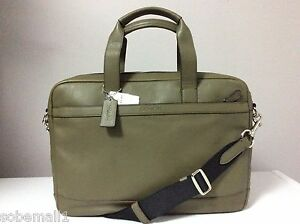 Coach-Hudson-Smooth-Leather-Briefcase-Bag-in-Surplus-Green-F71561