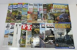 Assorted-Lot-of-20-Model-Railroad-Hobbyist-Magazines-1997-2016