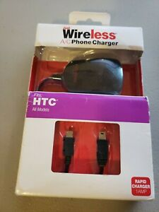JUST-WIRELESS-A-C-PHONE-CHARGER-HTC-All-Models-Rapid-Charger-NOS-NEW