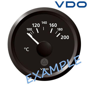 image is loading vdo-viewline-cylinder-head-temperature-gauge-52mm-2-