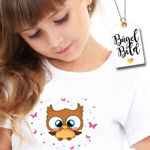 Image-a-Repasser-Chouette-Application-Uhu-Fille-Owl-Aufbugler-BB133-Diy-Patch