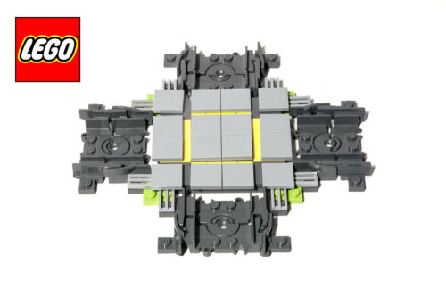 LEGO City Custom Made Cross Track For Train  60051 60052 10254 60169 75955 60198