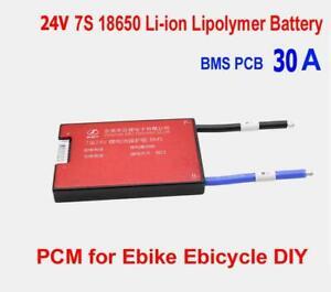7S 24V 60A BMS Li-ion Cell Battery Waterproof Balanced E-bike UK Stock /& Seller