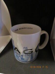 703a8350157 Image is loading STARBUCKS-2002-Skyline-Series-Barista-Coffee-Mug-Cup-