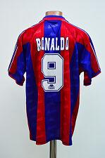 BARCELONA 1996/1997 MATCH WORN ISSUE FOOTBALL SHIRT JERSEY KAPPA RONALDO #9