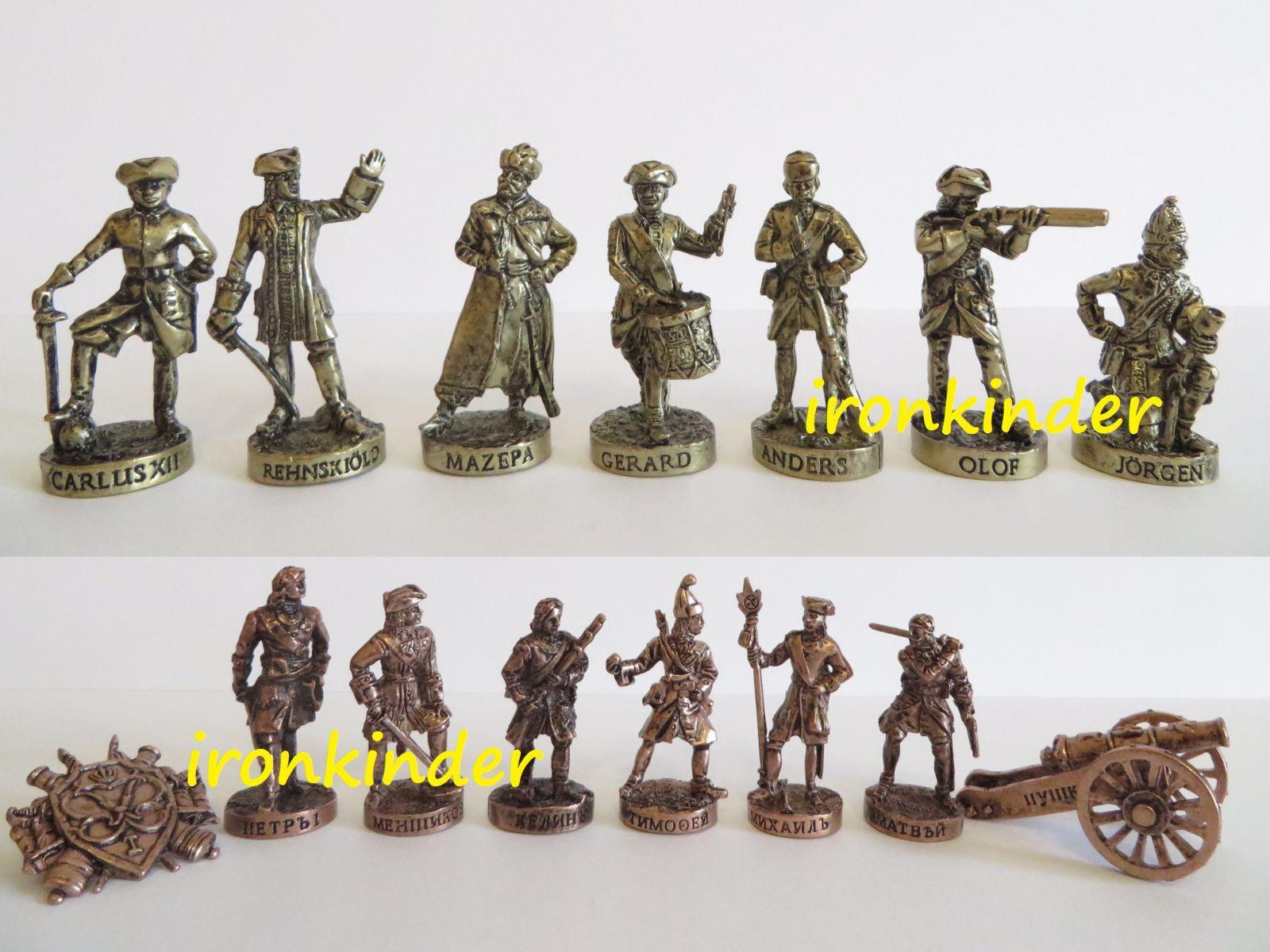 Battaglia di Poltava Metal giocattolo soldatino 40mm