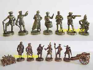 Battle of Poltava Metal Toy collection soldier 40mm