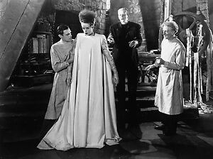 THE BRIDE OF FRANKENSTEIN BLACK AND WHITE 8x10 classic PHOTO!!!