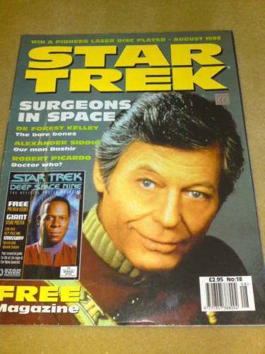 BONES STAR TREK MAGAZINE #18 AUG 1996