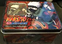 Naruto Shippuden Shonen Jump Ccg Card Game Tin 2 Packs + Gold Foil Card Ser 7
