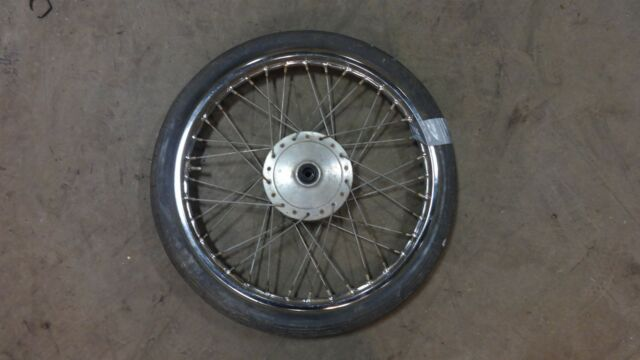 1960's honda c100 scooter h718-1~ front wheel rim 17""
