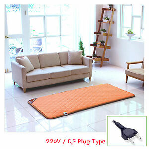 HanIl Wooden Floor Designed Carpet Heating Mat 220V Electric Warm Sheet 2 Sizes