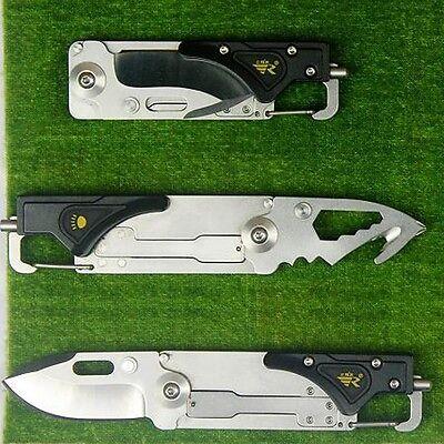 Sanrenmu SRM 8Cr14MoV Blade multifunction tools knife 6050LUF-PH-T4