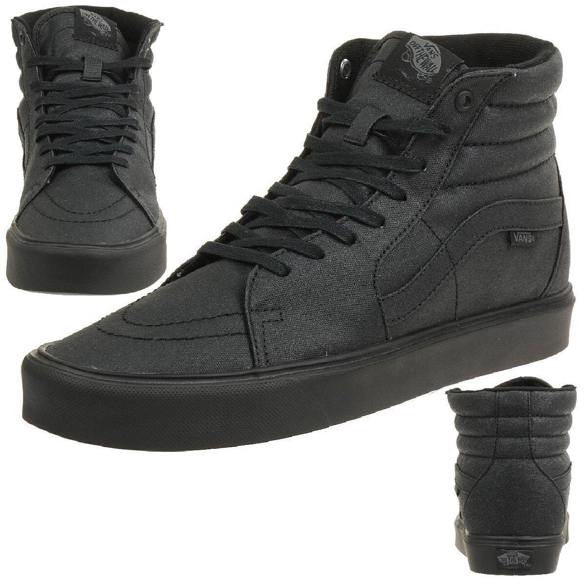 VANS Sk8-Hi Lite Unisex-Erwachsene Sneaker ultraleicht VN-0 XE4GVY waxed black