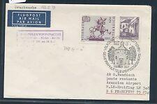 95757) LH FF Frankfurt - Paraguay 13.5.71, Brief ab Österreich