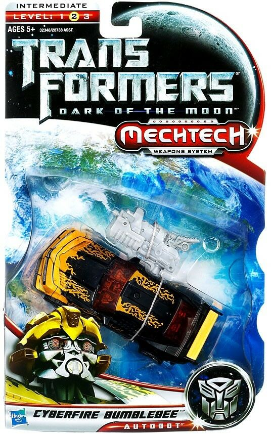 Transformers Dark of the Moon Mechtech Cyberfire Bumblebee Deluxe Action Figure