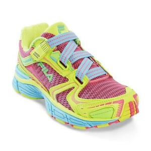 2ebc590a36cd NEW FILA RUNNING Approach EZ Shoes Sneakers Pink Neon - Youth Girl ...