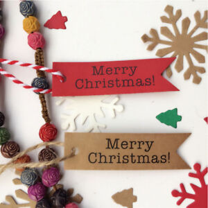 100PCS-Kraft-Paper-Hang-Gift-Tags-Wedding-Christmas-Favor-Scallop-Label-G