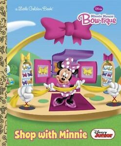 shop with minnie disney junior mickey mouse clubhouse hardback