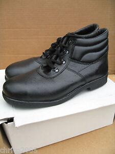 Sicherheitsschuhe aus Leder schwarz *neu* SB Größe 39