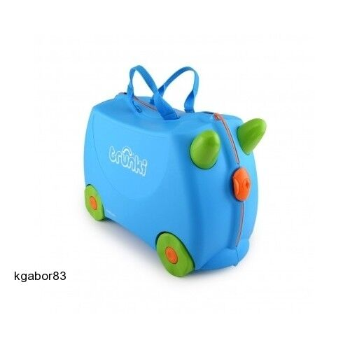 Terrance Trunki Ride-on Suitcase Blue