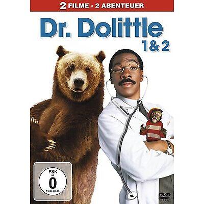 Dr. Dolittle 1 & Dr. Dolittle 2 - Eddie Murphy - DVD Box Film Spielfilm FOX