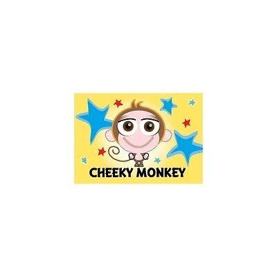 "Cheeky Monkey Fridge Magnet 3/"" x 2/"" Cupcake Crew Design"