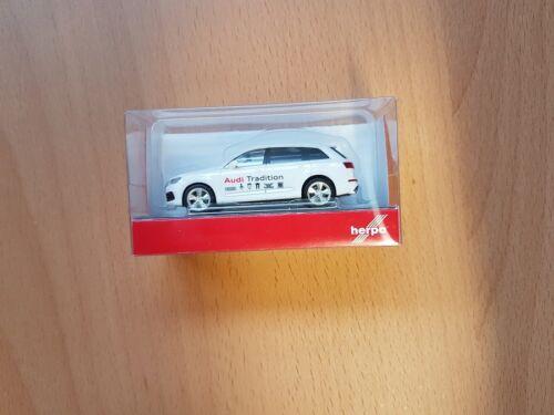 """Herpa 094085-1//87 audi q7 /""""Audi tradición-nuevo"""