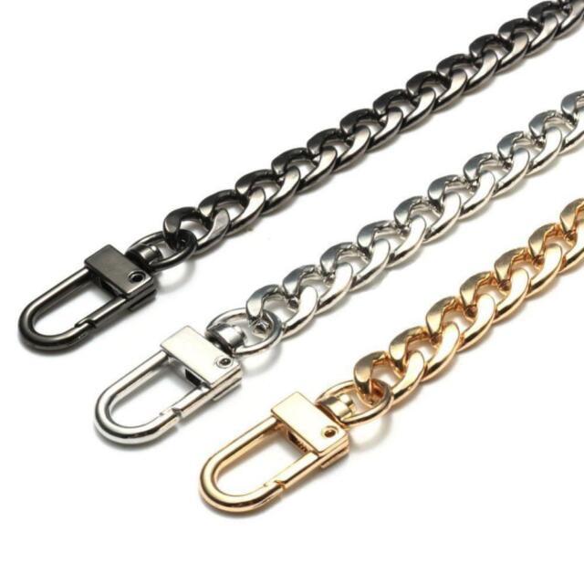 Purse Bag Strap Crossbody Replacement DIY Shoulder Handbag Handle Metal Chain@SY