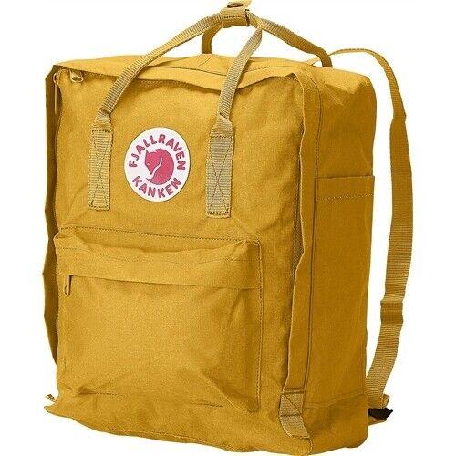 Uni /& Schule Fjällräven Kanken ochre Rucksack Tagesrucksack Gelb für Arbeit